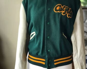 Vintage Whiting Cal Poly Varsity Lettermen's Jacket in Excellent Condition!