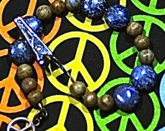 Alligator Roach Clip, Hippie Bracelet, Handmade Clip, Medical Marijuana