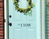 Door Numbers -Custom Vinyl Decal - Address Numbers - Door Decal - Address Decal