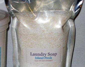 Laundry Soap - Island Fresh (Gain Type) scented - 13.2 oz