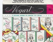 Vogart 657 Hot Iron Transfer patterns Kitchen Axioms Similes embroidery patterns 1940s or 50s