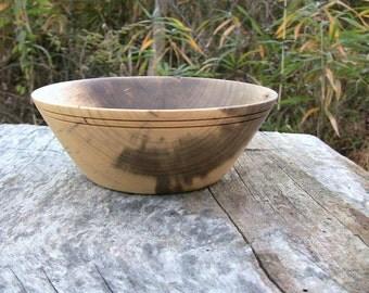 Wood bowl, Southern Magnolia Wood Bowl, Magnolia Wood Bowl, Magnolia Wood, Wedding Bowl, fruit bowl, serving Bowl, Kitchen Ware, Table Decor
