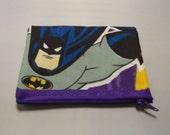 Batman -DC Comic Fabric Coin Purse- Handmade