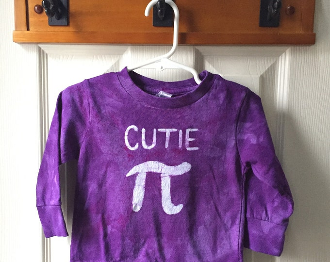 Kids Pi Day Shirt, Toddler Pi Day Shirt, Toddler Cutie Pi Shirt, Kids Math Shirt, Kids Cutie Pi Shirt, Nerdy Kids Shirt (18 months)