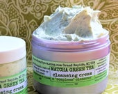 """Matcha Green Tea Facial Cleanser-with Green Tea Extract-A """"Soapless"""" Alternative-Great for """"Problem Skin"""""""