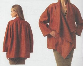 Vogue 1346 / Designer Sewing Pattern By Donna Karan / DKNY / Jacket Coat / Sizes L XL XXL