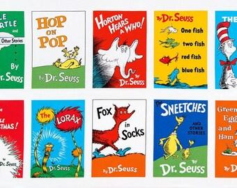 Celebrate Seuss 4 Panel