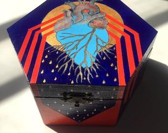Heart Release I / Anatomical Heart Art Box