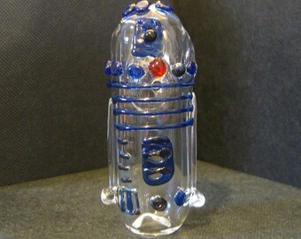 Glass Pipe Droid Small Travel Pipe