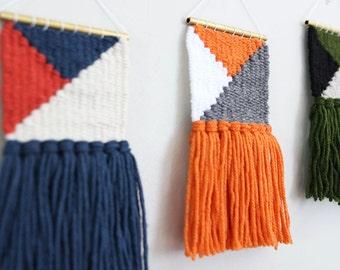 Mini Woven Wall Hanging | Mini Woven Wall Art | Mini Wall Weaving | Mini Woven Tapestry | Home Decor | Fiber Art