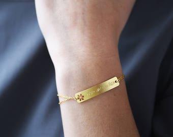 Quote Bracelet, Breathe Bracelet, Stop a minute Breathe, Inspiration Bracelet, Hebrew Bracelet, Hebrew Jewelry, Jewish Jewelry, Word Jewelry