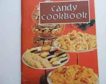 Candy cookbook 1956 vintage cookbook recipes