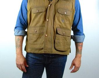 Oilskin Canvas Vest by Outback Trading Co. LTD., Overlander Vest