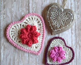 PDF Bavarian Heart Valentine Crochet Pattern