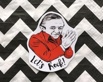 Let's Rock! Twin Peaks Vinyl Laptop Sticker | Car Decal | Phone Sticker