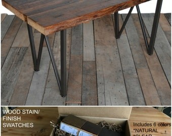 Rustic dining table   Etsy. Modern Rustic Wood Dining Table. Home Design Ideas