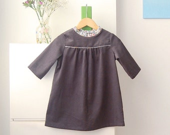 Graphite Corduroy Tunic with the Liberty of London