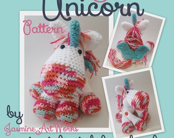 Unicorn Pony Crochet Pattern