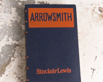 1925 ARROWSMITH Vintage Lined Notebook