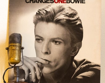 "ON SALE David Bowie Vinyl Record Album 1970s Rock British Pop Theatrical ""Changes One: Best of"" (SCARCE 1976 Phillipines Import Rca) Vintage"