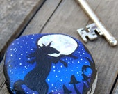 UNICORN Fantasy Art Stones Hand Painted Rocks Magical Creatures Mythical Beasts Horse Lovers Gifts Spirit Animals