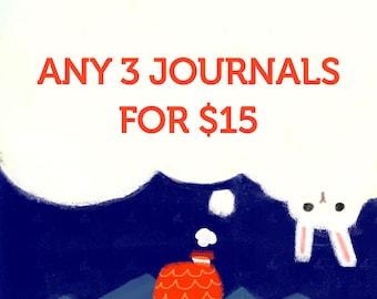Any 3 Journal Set