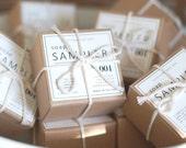 SOAP SAMPLER Gift Box - Ellie's Handmade Soap - 5 Scent Variety Pack Gift Box
