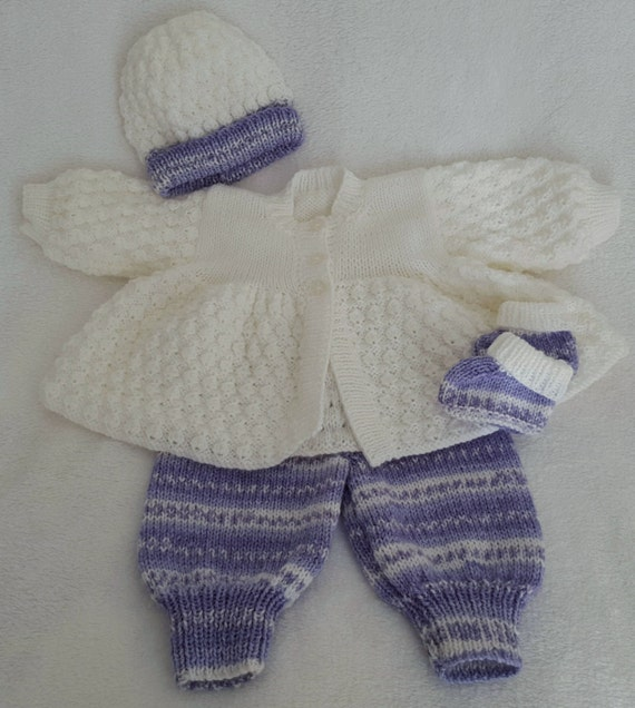 Baby Girl Knitted Sweater Set 70