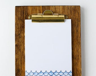 Wooden Clipboard with Stand for Display | Photo Frame