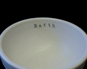 Earth Porcelain Bowl