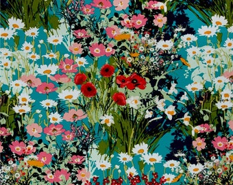 Mother's Garden Rich   LAH-26800 - LAVISH -  Katarina Roccella for Art Gallery Fabrics - By the Yard
