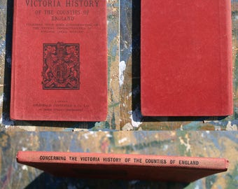 The Victoria History of the Counties of England Description of Plan and details 1905