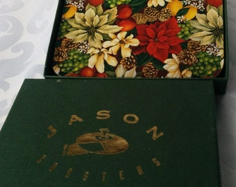 Vintage Floral Set of 4 Coasters - NEW