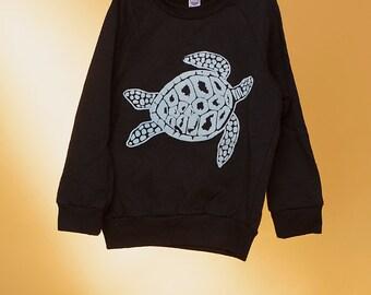 SALE Kids Turtle Sweatshirt, Size 2T
