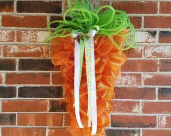 Easter Carrot Wreath