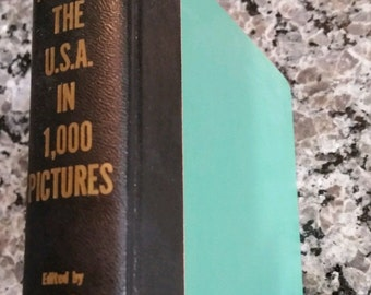 Around the U.S.A. in 1,000 Pictures 1955 Photographic Encyclopedia, Runyon Berga