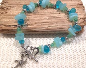 Sea Glass Bracelet, Sea Bracelet, Beach Bracelet, Ocean Bracelet, Beach Jewelry, Beach Glass Jewelry, Sea Glass Bracelet, Gifts for Her