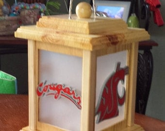 Washington State Cougars Lantern