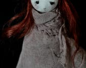 OOAK Art Doll - The Abandoned One -Radha