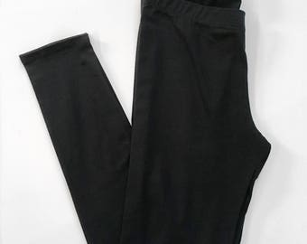 clearance - Basic Black Legging