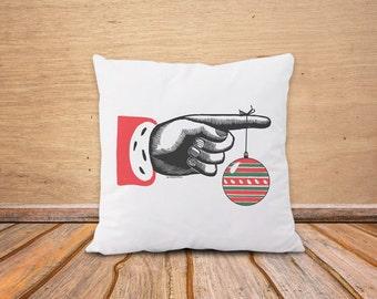 Christmas pillow cover-Santa Claus pillow cover-Christmas decor-Christmas gift-retro Christmas pillow-decorative pillow-NATURA PICTA-NPCP071