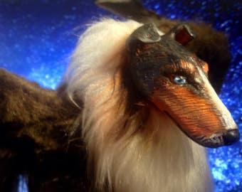 The Skye King - OOAK Art Doll