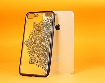iPhone 8 Plus case Clear iPhone 8 case, Electroplated soft silicone case - ETS7P002U