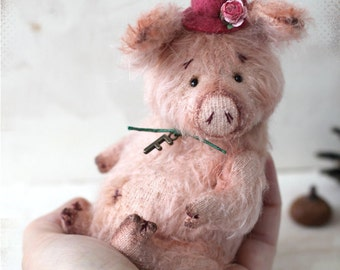 Artist Teddy Piggy Fendy 6,5 inch