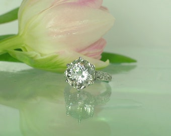 non traditional engagement ring non traditional ring non diamond ring herkimer diamond - Non Traditional Wedding Rings