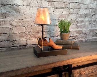 Table Lamp Lighting Vintage Home Decor
