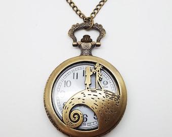 Watch necklace etsy aloadofball Choice Image