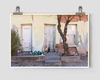 Dallas Street Rooster Marfa Texas Fine Art Photography