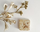 Rustic Wedding Favors: rustic style winter wedding soap favors