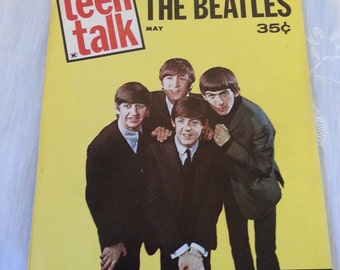 The Beatles-Teen Talk magazine May 1964